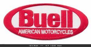 BUELL Aufnäher Aufbügler Patch Motorrad Firebolt Battletwin Westwind V2 USA