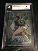 1995 Topps Finest #169 Mark Mcgwire BGS 8 Oakland Athletics Original With Coatng