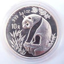 China 10 Yuan - Panda 1993 - 1 Oz AG Silber Stgl.