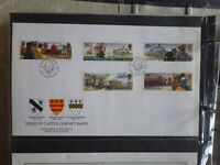 GUERNSEY 1993 VICTORY AT CORONET CASTLE SET 5 STAMPS FDC FIRST DAY COVER