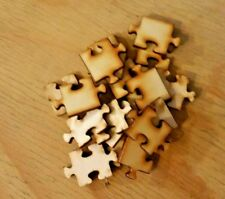 30 Mini jigsaw pieces, 3mm Laser Ply