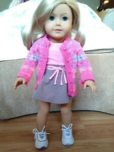 American Girl Doll Truly Me blonde blue eyes