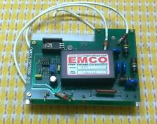 CAMECA 29275935 0-6KV 0.5mA  DC POWER SUPPLY BOARD w/ EMCO E60 MODULE (#1422)