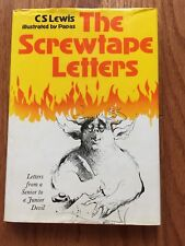 The Screwtape Letters by C.S. Lewis Illustrated by Papas 1979 HCDJ