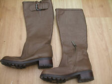 BODEN STUNNING  NEW LEATHER BUCKLE  BOOTS SIZE 38==5  BNWOB