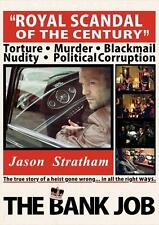THE BANK JOB Movie POSTER 27x40 B Jason Statham Saffron Burrows Daniel Mays