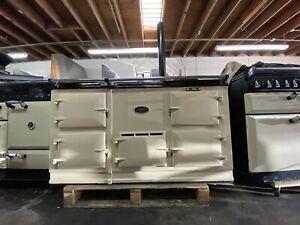 Aga Deluxe Model Direct Vent Range 4-Oven Cooker / Stove in Cream