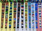 10pcs cartoon Neck Strap Lanyard Key chain ID Phone Card Badge Holder