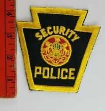 Vintage Security Police Patch