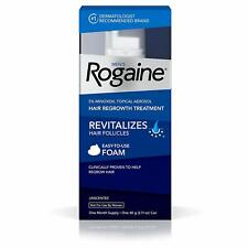 Men's Rogaine Extra Strength Hair Regrowth Solution Foam 5% Minoxidil Women 2%