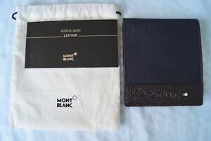 MONTBLANC Mini Brieftasche / Kreditkarten Etui / Portemonnaie *NEU*