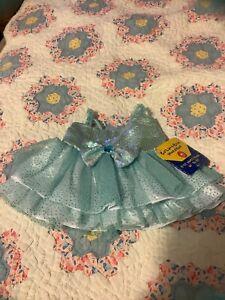 NWT build a bear girls Poles Ice Dress
