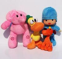 Pocoyo Plush Pocoyo Loula Elly Pato 4pcs Set Doll Stuffed Animals Soft  Toy