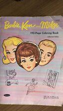 New listing Vintage Barbie Ken & Midge Coloring Book
