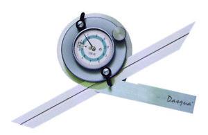 DASQUA 0-360 DEGREE UNIVERSAL DIAL PROTRACTOR (1031-2010)
