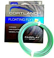 Cortland 84' Fairplay Series WF4F Durable High Floating Fly Line ( #326040 )
