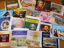LOT 17 CD compilation de MUSIQUE CLASSIQUE piano JOHANN STRAUSS beethoven MOZART