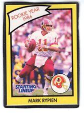 1990 Mark Rypen - Starting Lineup Card - Washington Redskins - (Yellow)