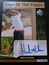 Hunter Mahan 2012 SP Authentic Sign of the Times Auto