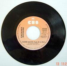 DISQUE 45 TOURS DE 1979 DE ZACHARY RICHARD, FAIS-MOI SAUTER + MES SOULIERS ROUGE