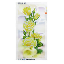 DIY 5D Rose Diamond Embroidery Painting Flower Cross Stitch Home Decor Crafts