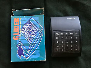rare ancienne calculator calculatrice vintage GLIDER HK DESIG collection pop art