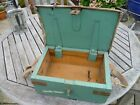 British Army Wooden 17Ib or 25Ib Pounder Spares Box, WWII-1940s