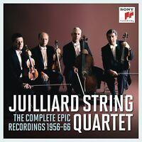 JUILLIARD STRING QUARTET - THE COMPLETE EPIC RECORDINGS 1956-66  11 CD NEU