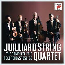 JUILLIARD STRING QUARTET - THE COMPLETE EPIC RECORDINGS 1956-66  11 CD NEW!