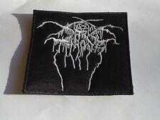 DARKTHRONE BLACK METAL EMBROIDERED PATCH