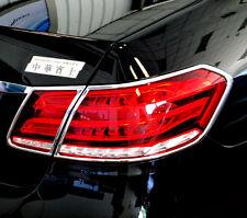 Mercedes E CLASS W212 5/2013 TO 2/2016  CHROME REAR LIGHT TRIM