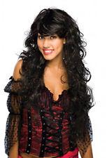 Sexy Long Black & Red Chic Wig Goddess Dark Angel Underworld Queen Persephone