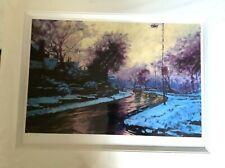 """ROLF HARRIS Ltd Edition Print 'Heading Home"""" Printed And Mounted With Biog NEW"""