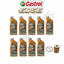 9-Liters Castrol 10w60 SYNTHETIC Engine Motor Oil Change Kit w/ Mahle Filter