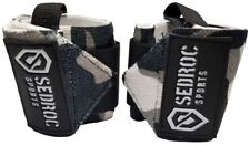 Sedroc Weight Lifting Wrist Wraps Gym Crossfit Training Support Straps Gray Camo