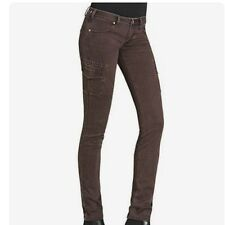 Cabi 962 Bittersweet Cargo Jeans (Bittersweet-Brown) Size 6 China NWT $108