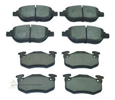 PEUGEOT 206 2.0 GTI 180 2003-2007 FRONT AND REAR BRAKE DISC PADS NEW SET