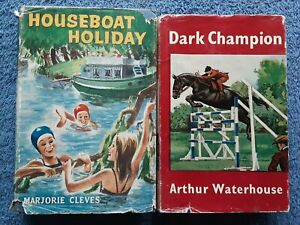 2x Children's Books - Houseboat Holiday, Dark Champion <HCDJ>
