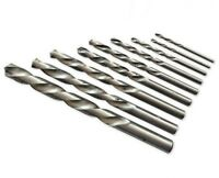 RUKO Left Hand Drill Bits, HSS-G, All Sizes from 1.0mm - 13.0mm, HIGH QUALITY