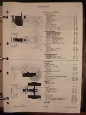 Massey Ferguson Schlepper 235 + 245 Ersatzteilkatalog