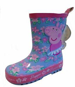 "Peppa Pig ""Flowers"" Wellington Boots"