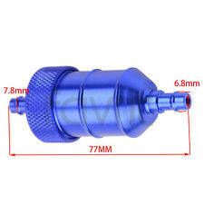 "Aluminum  Fuel Filter Petrol Gas 5/16"" 1/4"" For Yamaha FZR600R FZR400 GS650 bike"
