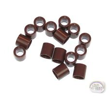 LEGO Technic - 15 x Pin Connector Round - 1L - Red Brown - Spacer - New - EV3