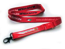 Scuderia Ferrari F1 Club Neck Lanyard Vettel Leclerc Schumacher Forza Passion