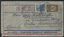 1931 Brazil Air Mail Cover - Porto Alegro to Berlin - Comp. Générale Aéropostale
