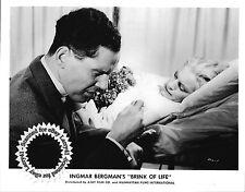 Ingmar Bergman Eva Dahlbeck Erland Josephson still BRINK OF LIFE 1958 Nara Livet