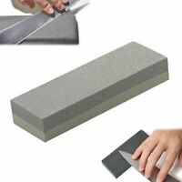 NEW PORTABLE KNIFE SHARPENER  SHARPENING STONE DOUBLE SIDED COMPACT EASE TO USE