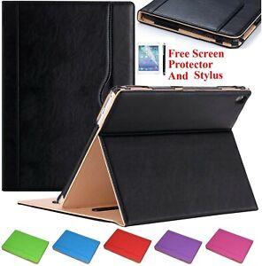 Premium Luxury Magnetic Leather Smart Folio Wallet Case Cover for iPad mini 2 3