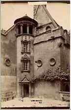 France, Bourges, Hôtel Lallemant Vintage albumen print.  Tirage albuminé  12