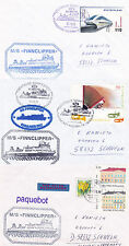 FINNISH FERRY SHIP MS FINNCLIPPER THREE SHIPS CACHED COVERS